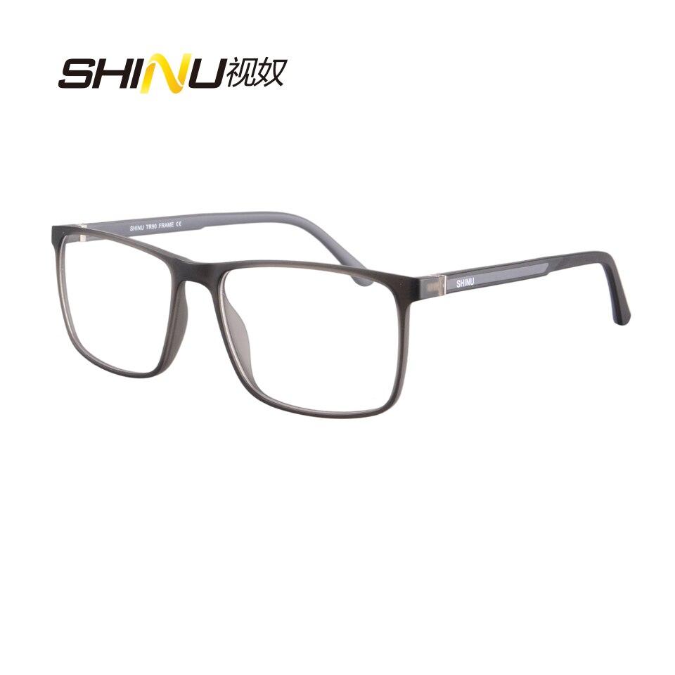 SHINU Brand Reading Glasses UV400 Anti Blue Ray Multifocal Progressive Reader For Women Men Points TR90