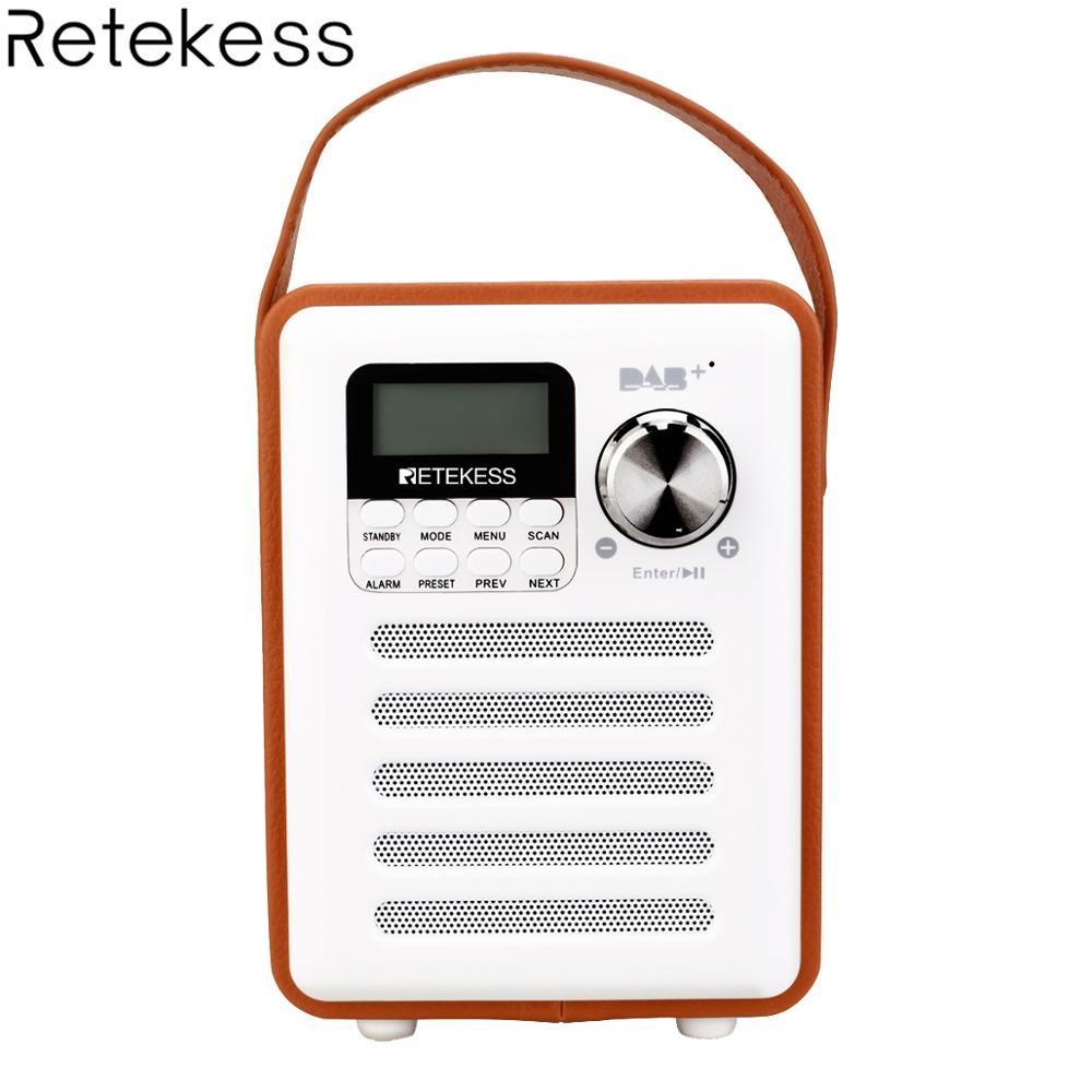 Récepteur numérique de Radio DAB +/FM RDS Portable Retekess TR401 avec récepteur de Radio FM