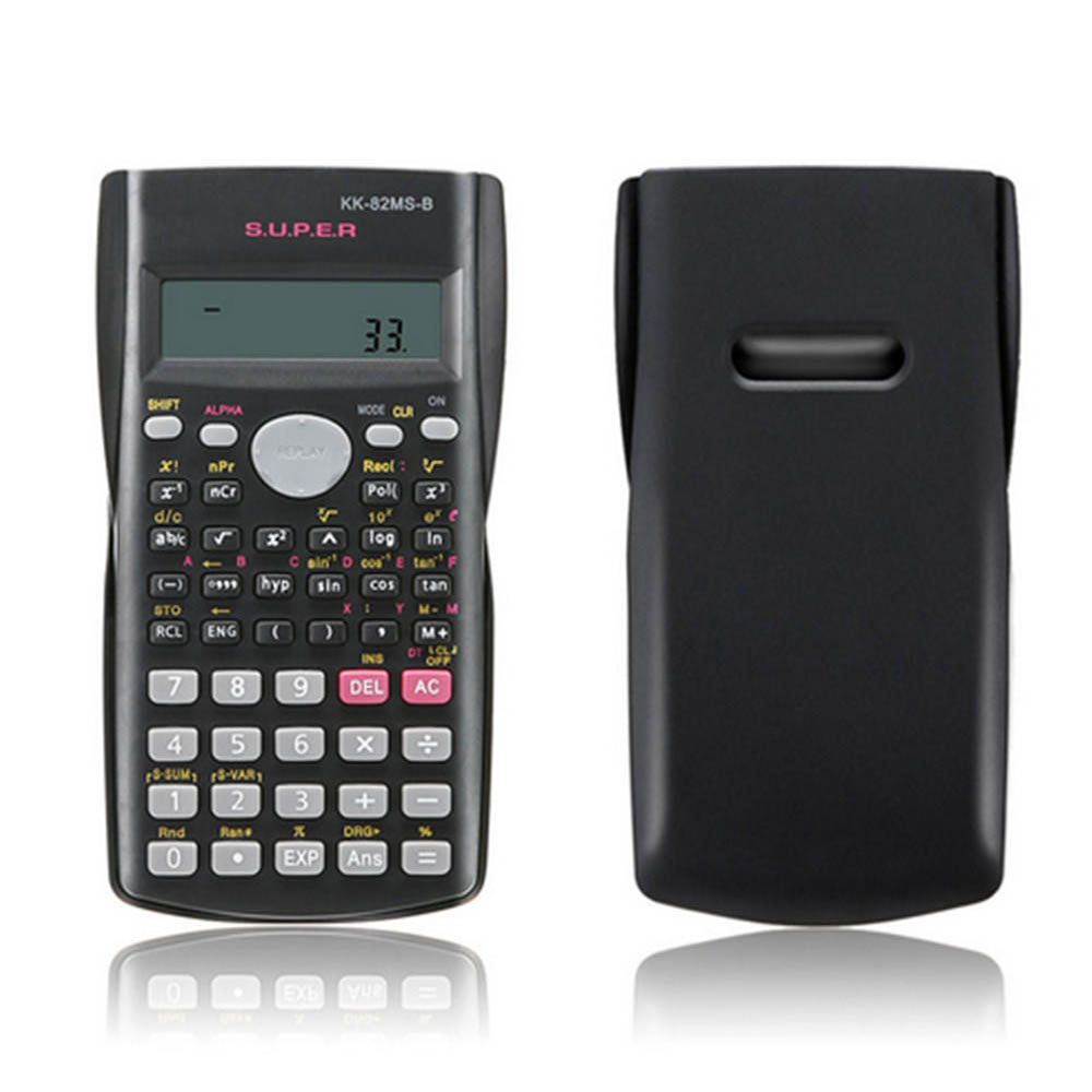 Calculator Office-Battery Handheld Students School Portable Plastic For With Mathematics