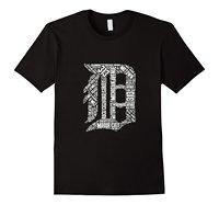 Detroit T-Shirt Grafische D 2018 Hot Koop Nieuwe Men'S T-Shirt mannelijke Designing Top Tee Gedrukt Mannen voor Mannen Westerse Stijl paar