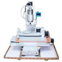 CNC Router 3040 Engraver Milling Machine 5axis Woodworking Carving Machine