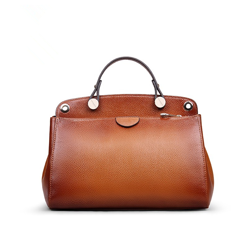 Genuine Leather Women Handbag Totes Vintage Cow Leather Women Bag Woman Shoulder Crossbody Bags 2018 vintage genuine leather handbag crossbody shoulder bag for women fashion office lady totes female real 100% cow leather gg