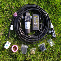 New 12v 5L/min 160 Psi High Pressure Booster Diaphragm Water Pump Sprayer Black White Color For Outdoor Cooling System