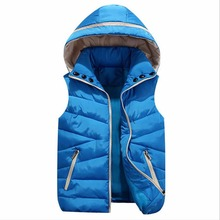 New for fall/winter fashion for women-parent-child couples down cotton vest