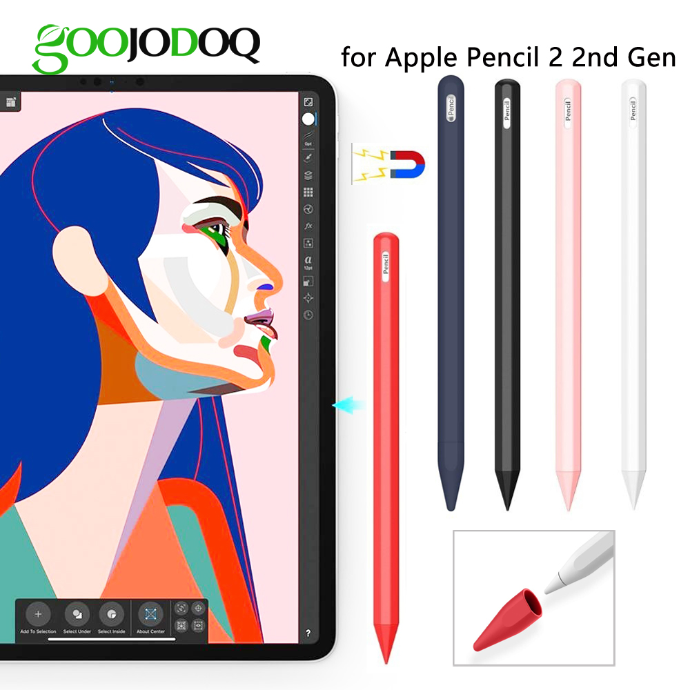 Case For Apple Pencil 2nd Generation for Apple Pencil 2 Holder Premium Silicone Cover Sleeve for iPad 2018 Pro 12.9 11 inch PenCase For Apple Pencil 2nd Generation for Apple Pencil 2 Holder Premium Silicone Cover Sleeve for iPad 2018 Pro 12.9 11 inch Pen