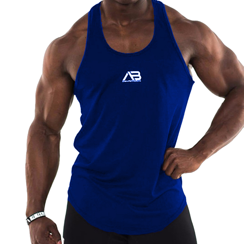 ZOGAA Summer Men's Fashion High Quality Brand Clothing Men's Vest Stringer Bodybuilding Fitness Man   Tank     Top   Clothes M-XXXL