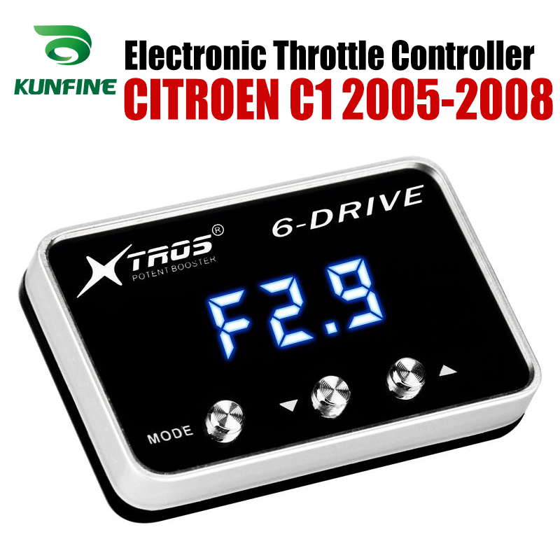 Car Electronic Throttle Controller Racing Accelerator Potent Booster For CITROEN C1 2005-2008 Tuning Parts Accessory Car Electronic Throttle Controller Racing Accelerator Potent Booster For CITROEN C1 2005-2008 Tuning Parts Accessory
