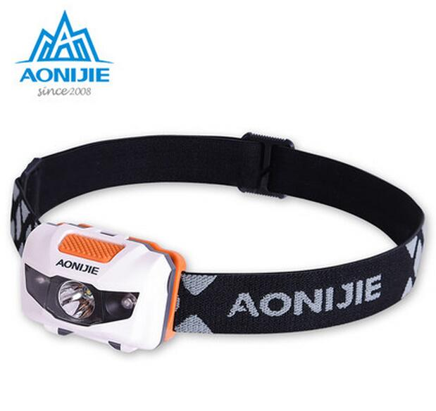 AONIJIE Waterproof Outdoor Sport Night Running Lights LED Climbing Night Running Light Outdoor Safety Camp Light Riding