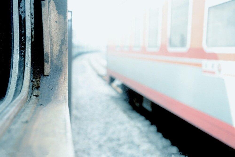 7x5ft Vinyl Custom Railway Theme Photography Backdrops Prop Photo Studio Background NTG-242