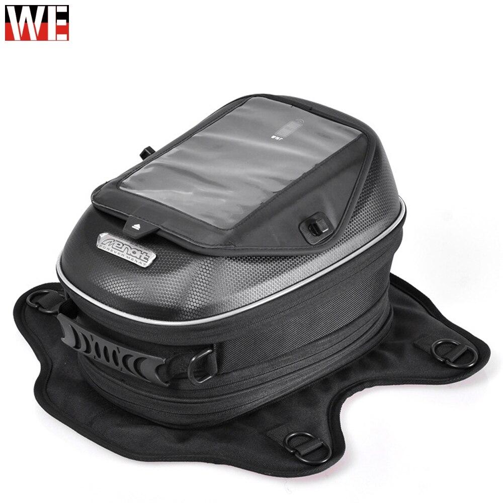 MENAT universel moto réservoir de carburant sacs multi-usages aimant étanche sacs à main pour GPS Navigation téléphone portable iPad