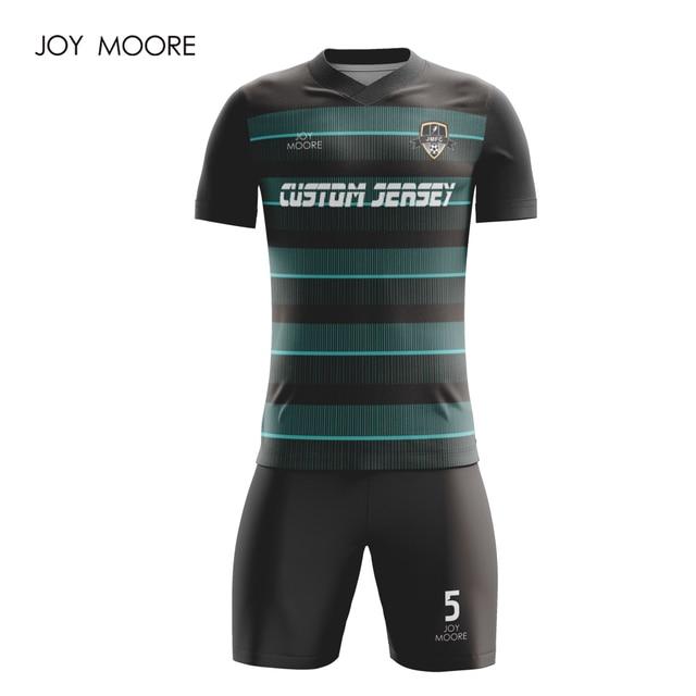 1ba7e420a18 Custom soccer jerseys football uniforms shirts football teams set full  sublimation polyester breathable soccer uniform