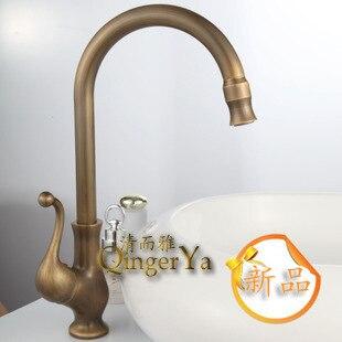 Supply of antique copper faucet faucet Caipen 8017 antique copper retro wholesale vegetables faucet