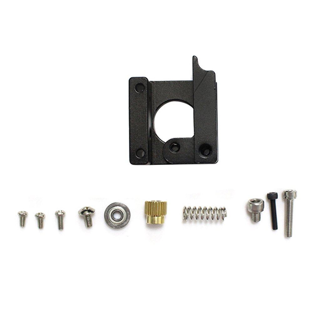 Mk8 Extruder Aluminium Blok Bowden Extruder 1.75 Mm Filament Reprap Extrusie Voor Cr-10 Diy 3d Printer Onderdelen Stevige Constructie