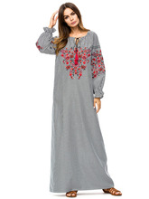Buy gray abaya and get free shipping on AliExpress.com d88535591b6a