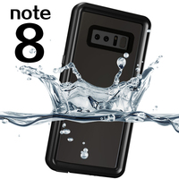 Brand luxury Diving Swimming silicone mobile phone shell for note8 Protection Cover for Samsung Galaxy Note 8 Case caps