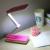 Creativo Plegable Led Lámpara de Mesa 5 W Tres Bloque Cargo Interruptor Dimmer Lámparas de Mesa Dormitorio Estudiantil de Cuatro colores Opcionales Luz de La tabla