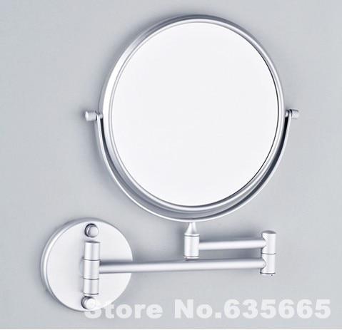 8 Inch Double Side Modern Bath Mirrors Shave Makeup Extend Arm 3x Magnifying Espelho Do Banheiro