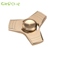2017 New Tri Fidget Hand Spinner Metal ExquisiteTec Finger Spinner Focus Toy Gadgets For Killing Time