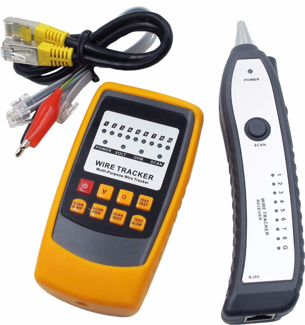 2018 Electric Tester Autek Yd208 Power Probe Kit Circuit Continuity Short Diy Professional Wire Tracker Line Detector Finder Voltage Test