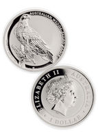 Free Shipping 300pcs/lot,2016-P Australia $1 1 Oz Silver Wedge Tailed Eagle Coin
