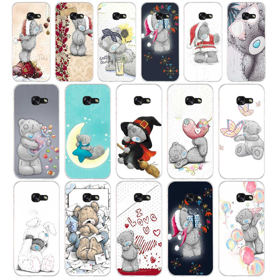 270SD Tatty Teddy Zachte Siliconen Tpu Cover phone Case voor Samsung a3 2016 a5 2017 a6 plus a7 a8 a9 star lite s 6 7 8 9