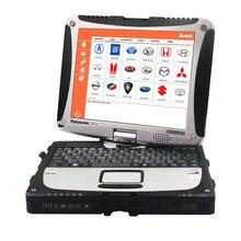 CF 19 TOUGHBOOK Diagnostic Tool Autek PCI A6 OBD2 Code Reader Scanner Instrument SRS Reset Service