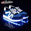 Размер 36 - 43 из светодиодов обуви светящиеся 7 цветов из светодиодов мужчины женщины мода световой из светодиодов , шлепанцы для взрослых ASP42