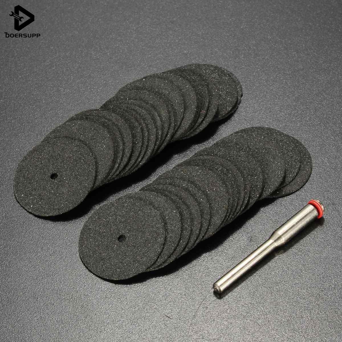 36pcs/set Universal 36X 24mm Mini Diamond Cutting Discs For Dremel Minicraft Rotary Tool Kit Cut Off Wheel SILA High Quality