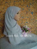 Mu828 Равнина вуаль горячей дрель Смешивания цветов классический квадратный шарф шаль оптовая 12 шт. за десяток мусульманские хиджабы