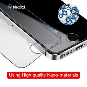 Image 3 - 50Pcs/Lot 9H 2.5D Tempered Glass for iPhone XS MAX X 5 5s 6 6s XR 4S Explosion Proof screen protector Film for iphone 8 7 plus