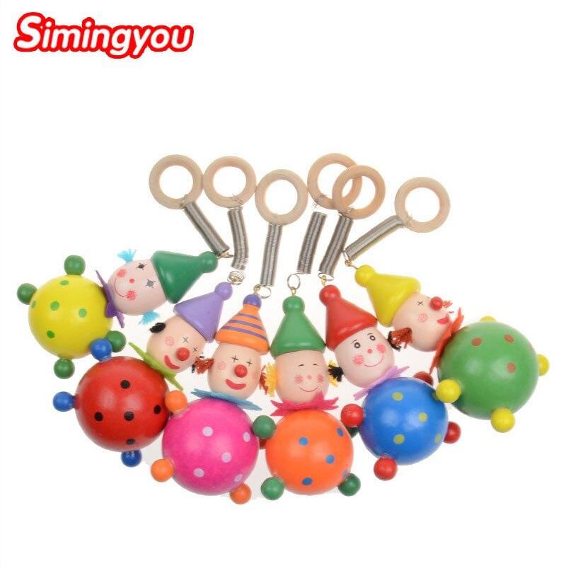 Simingyou Puzzle Holz Kleine Tier Holz Pfeife Spielzeug Schlüssel Anhänger Für Kinder C20 Dropshipping Zufällig Stil Angenehme SüßE