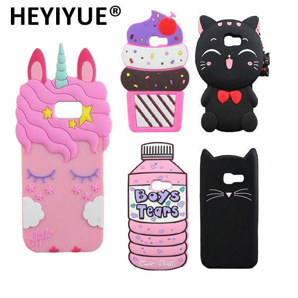 For Samsung Galaxy A5 2017 A520 BOYS TEARS Bottle Unicorn Minnie Mouse Tiger Bear Cat 3D Silicone Cell Phone Case Cover Skin-in Half-wrapped Case from Cellphones & Telecommunications on Aliexpress.com   Alibaba Group