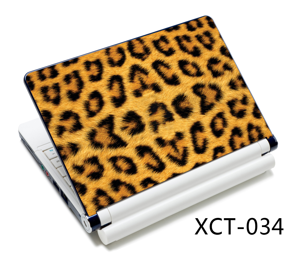 Leopard Laptop skin notebook stickers for 15 15.6 13 13.3 14 Brain image computer sticker for macbook/ hp/ acer/ xiaomi