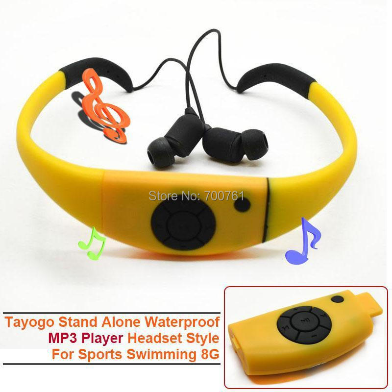 New sport Tayogo 8G Stand Alone Waterproof headphones ...