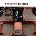 Esteras del Piso del coche Para BMW e30 e34 e36 e39 e46 e90 f30 f10 e53 x5 x3 x1 x6 325 520 320 accesorios car styling felpudos personalizado