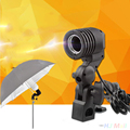 Photo Studio Lighting Bulb Light Lamp Holder E27 Socket Flash Bracket Adapter US/EU Plug