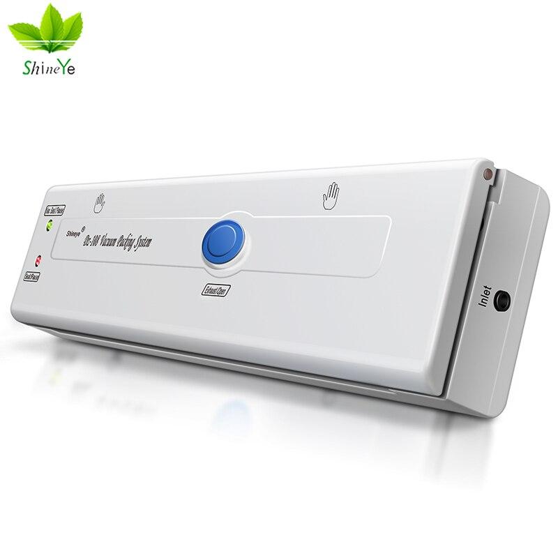 ShineYe DZ-108 Ev Gıda Vakum Mühürleyen Paketleme Makinesi Filmi - Elektrikli Mutfak Aletleri - Fotoğraf 5