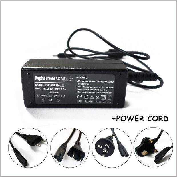 19V 2.1A 40W Laptop AC Adapter Charger For Samsung Series 5 Chromebook XE500C21 XE500C21-A04US 300U1A-A01 NP300U1A-A01US