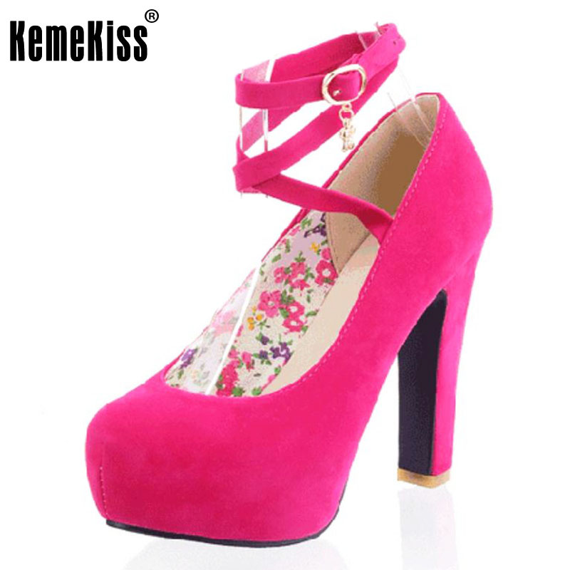 KemeKiss women NEW high heel shoes platform fashion women dress sexy heels pumps P10915 hot sale EUR size 31-43 hot sale brand ladies pumps sexy women high heels platform sexy women high heel pumps wedding shoes free shipping 2888 1