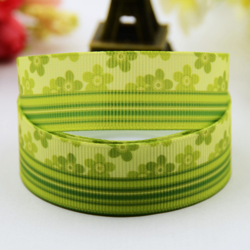 Ribbons Modest 7/8 22mm Flower Stripes Cartoon Character Printed Grosgrain Ribbon Party Decoration Satin Ribbons Sewing Supplies 10y X-00465 Home & Garden