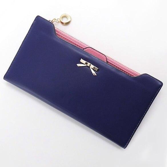 zíper fino sólida bolsa carteras Modelo Número : Lovely Wallets