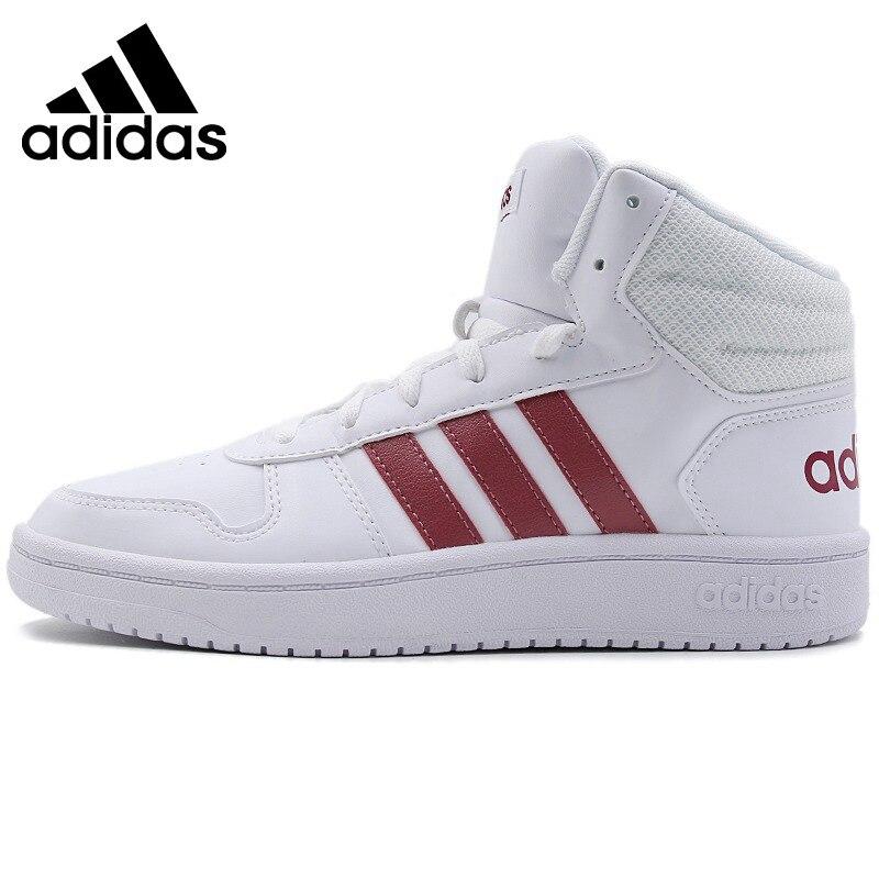 Original Adidas NEO Label HOOPS 2,0 MID frauen Skateboard Schuhe Outdoor Turnschuhe Sportlich Designer Schuhe 2019 Neue B42099
