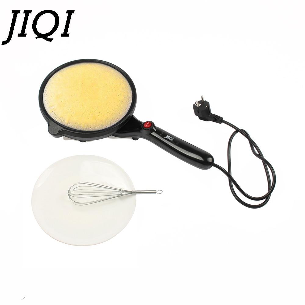 Jiqi блинница электрическая противень китайский Весна ролл машины жарки блин пиццы сковородку антипригарным пирог Плита пластины ЕС Plug