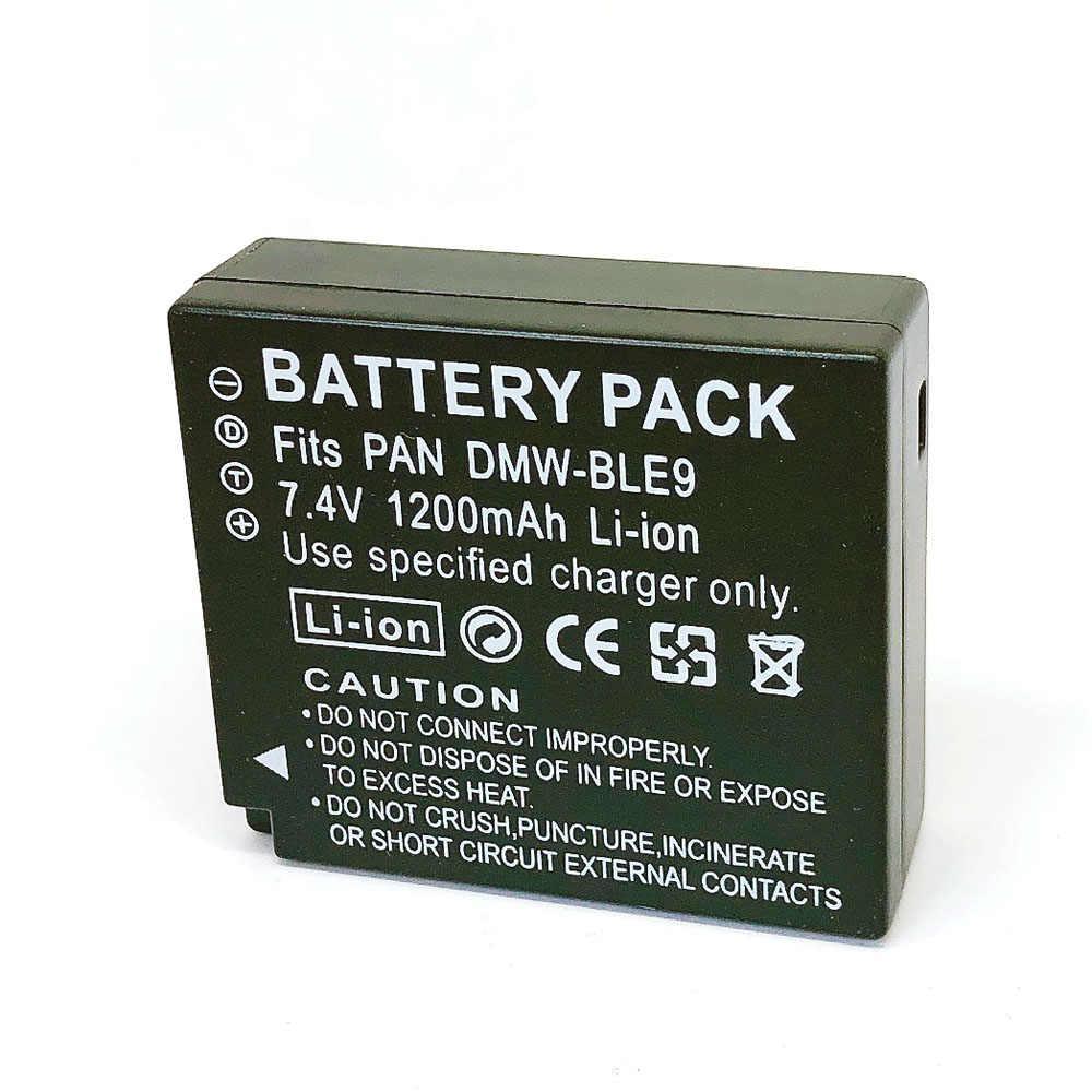 DMW-BLG10 DMW-BLE9E BLG10E BLG10PP BLE9 BLE9PP BP-DC15 Bateria para Panasonic DMW DMC-GF3 GF5 GF6 GX7 GX80 GX85 ZS60 ZS100 TZ100