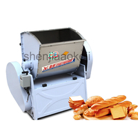 Home use Commercial Automatic Dough Mixer 25KG Flour Mixer Stirring Mixer The pasta machine Dough kneading 220v2200w 1pc
