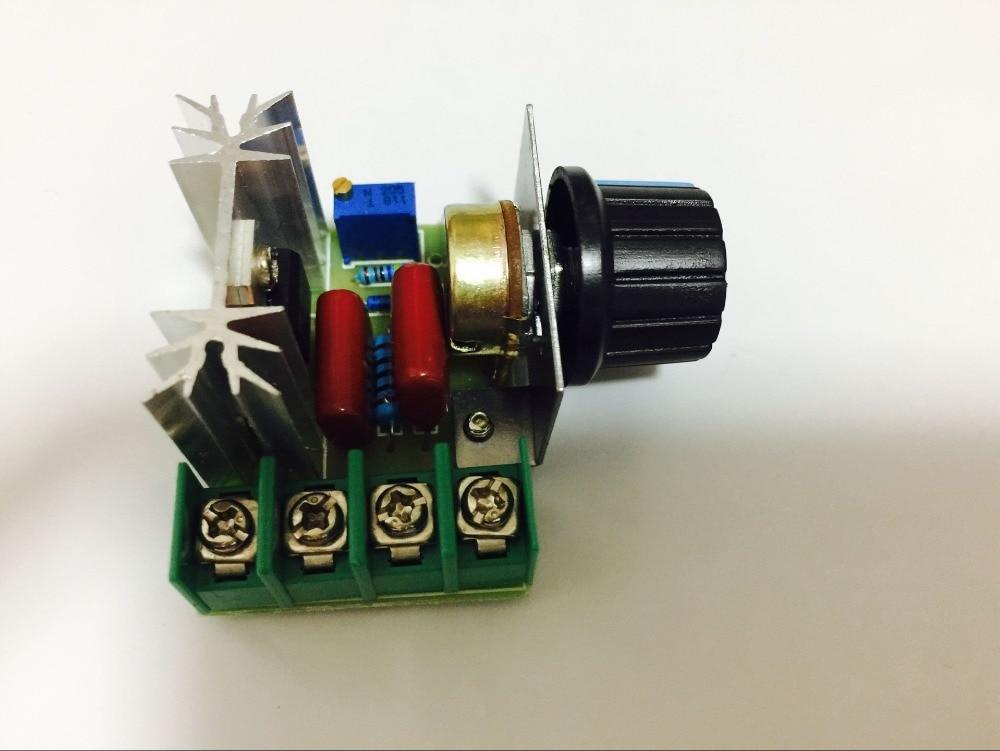 1PCS Retail 50~220 V 2000W PWM AC Stepper Motor Speed Controller Knob Tb6560 Tb6600 CNC Kit