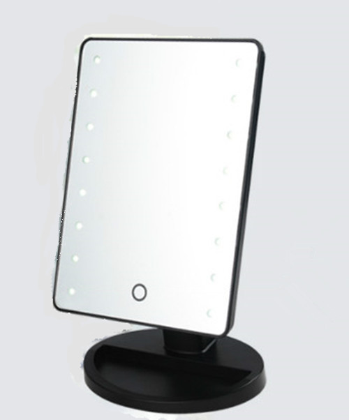 square vanity mirror with lights. Retail led illuminated makeup mirrors with desktop standing design in  Makeup Mirrors from Beauty Health on Aliexpress com Alibaba Group