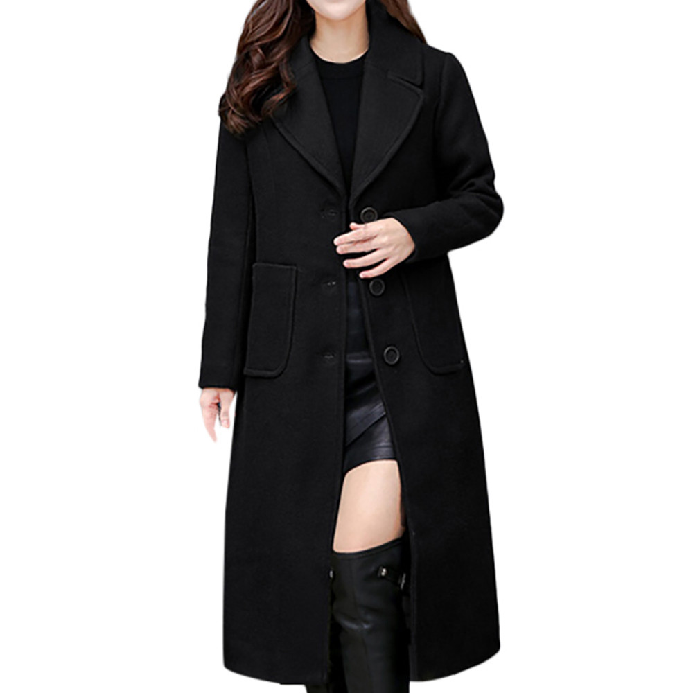 Parka À green Coton red Revers Capuchon 2019 Manteau Slim Black Femmes Laine Outwear Épais Long Parkas Hiver Pour Veste qTEc1wI