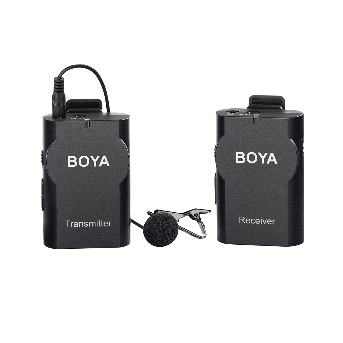 Microphone BOYA BY-WM4 Wireless Microphone system for Canon Nikon Sony Panasonic DSLR Camera Camcorder android smartphone boya by wm4 lavalier wireless microphone system for canon nikon sony panasonic dslr camera camcorder iphone android smartphone