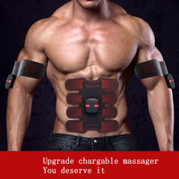 ABS Muscle Stimulator Massage Exerciser Training Electronic Machine Abdominal Arm Muscle Trainer Body Slimming Building Fitness*